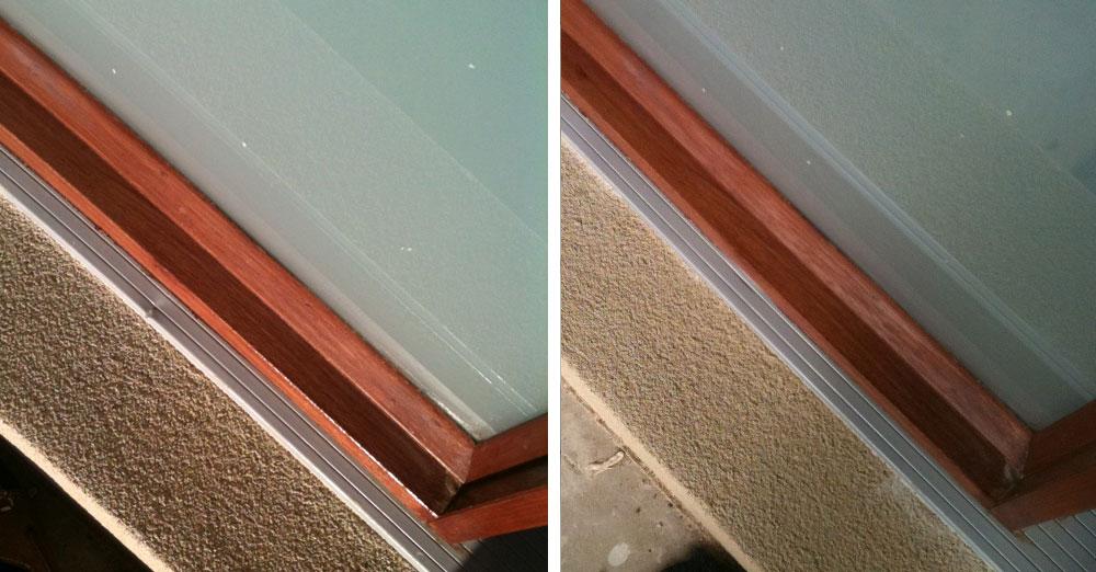 aluminium window track repair