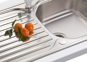 Stainless Steel sink polishing